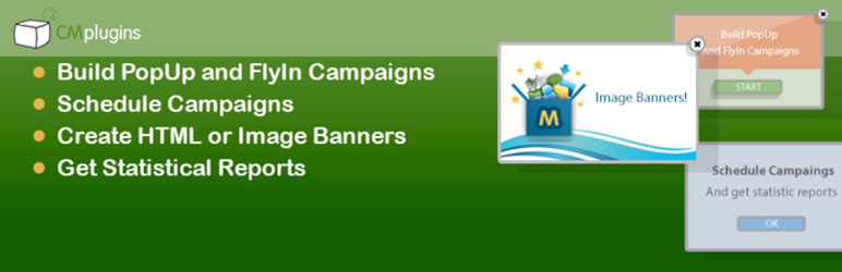 cm pop up banners free wordpress popup plugins 1 - Top 10 Best Free Popup WordPress Plugins