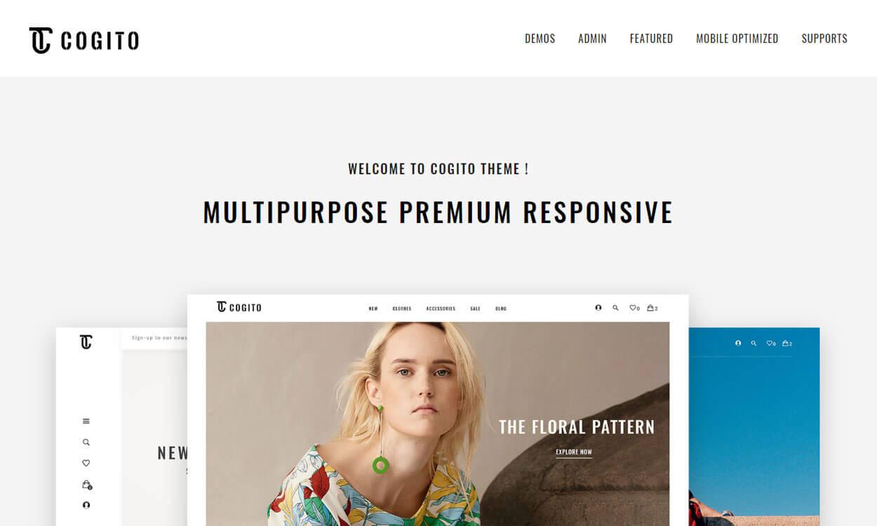 cogito premium wordpress theme - 30+ Best Premium WordPress Business/Agency Themes for 2019
