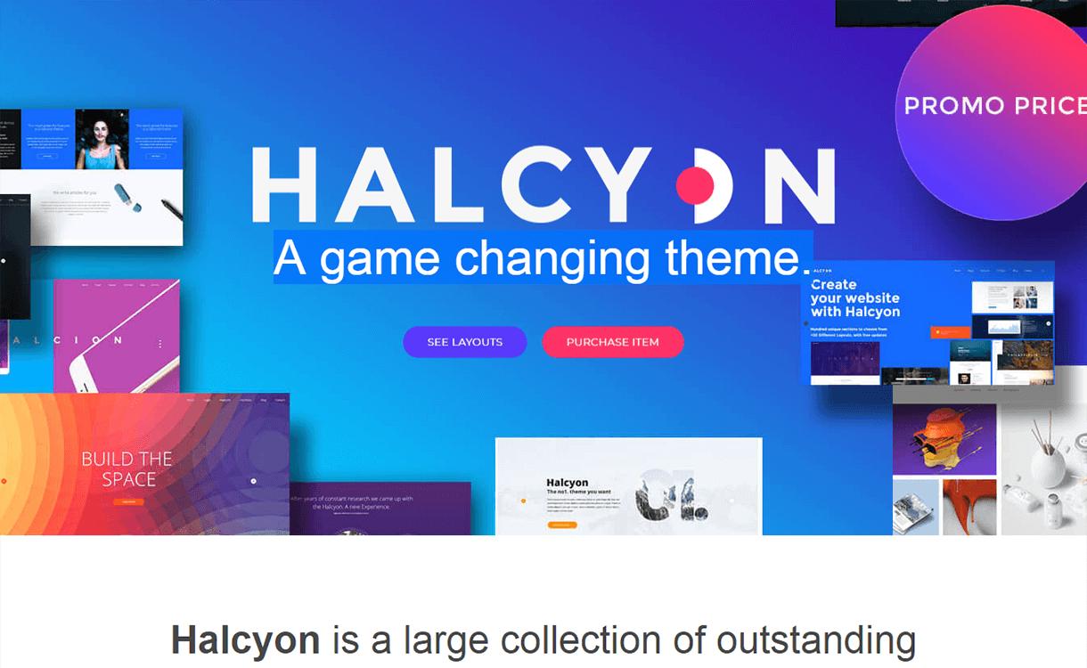 halcyon premium wordpress theme - 30+ Best Premium WordPress Business/Agency Themes for 2019
