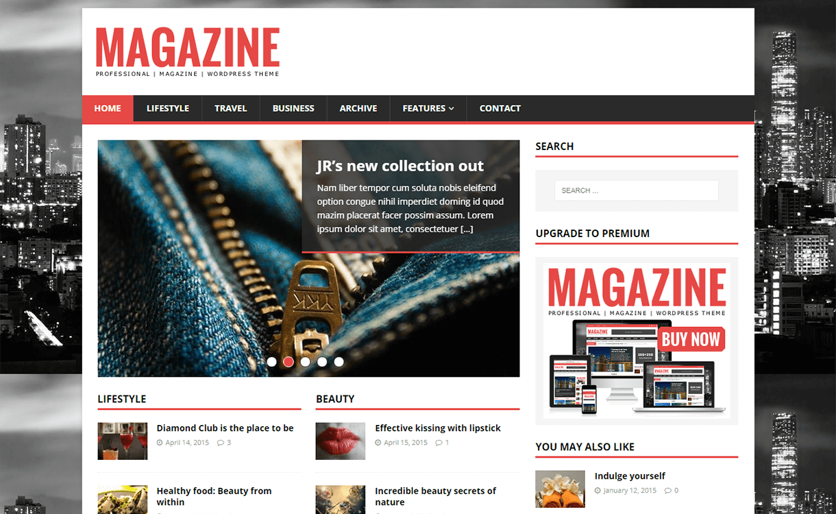mh magazine lite magazine wordpress theme - 25+ Best Free Magazine WordPress Themes For 2019