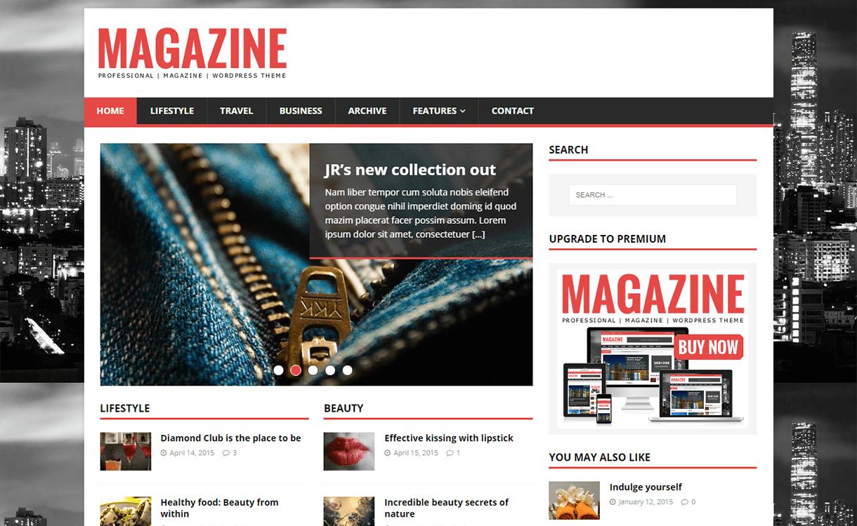 mh magazine lite magazine wordpress theme - 25+ Best Free Magazine WordPress Themes For 2019