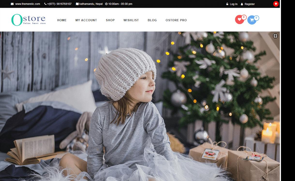 OStore-Best Free WordPress Themes November 2017