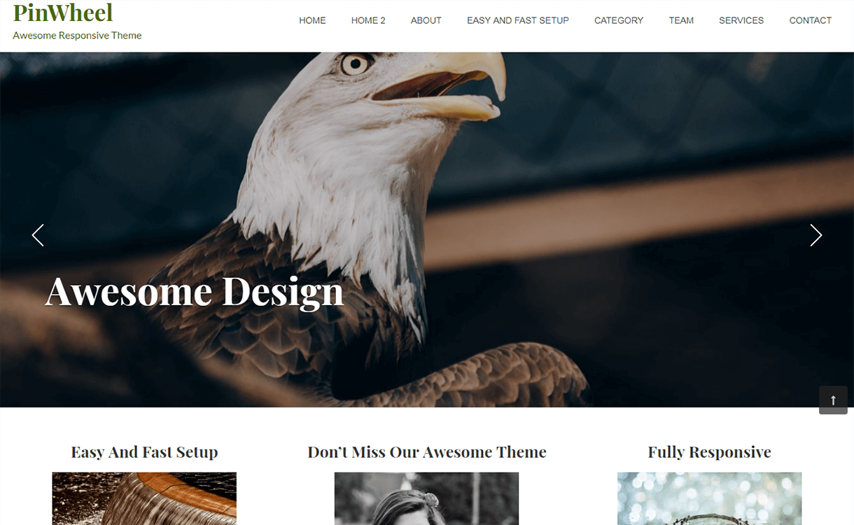 pinwheel free wordpress theme - 21+ Best Free WordPress Themes November 2017