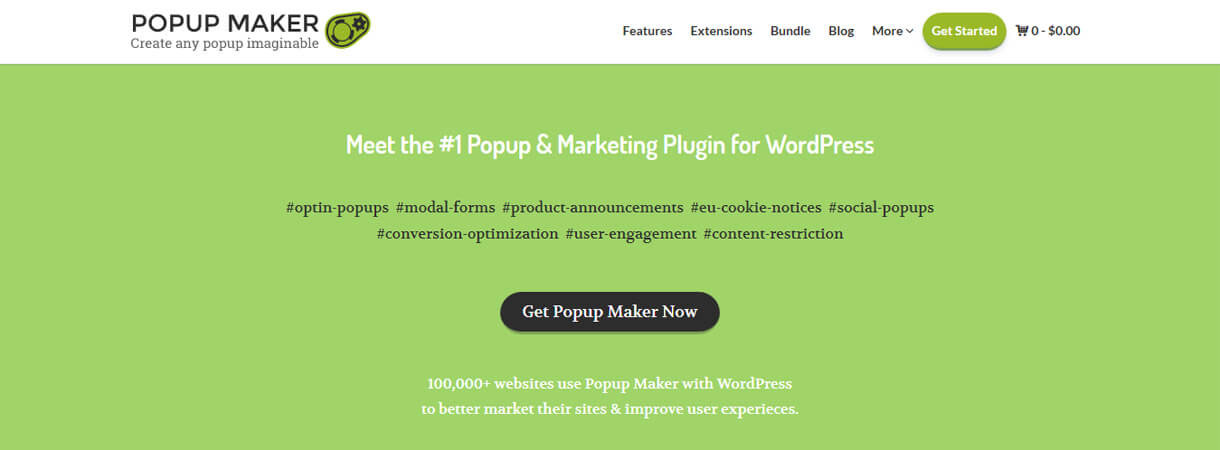 popup maker wordpress deal - Best WordPress Deals for Black Friday and Cyber Monday 2017