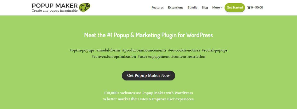 popup maker wordpress deal - Best WordPress Deals for Black Friday and Cyber Monday 2017