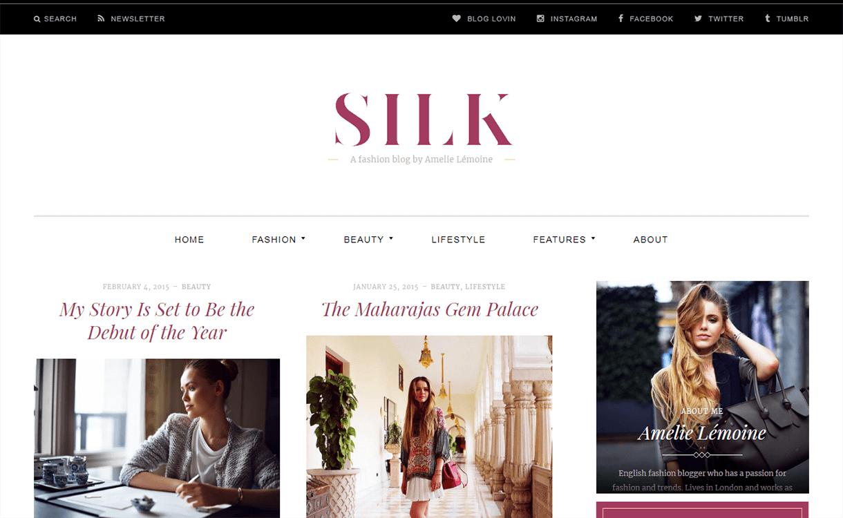 silk lite magazine wordpress theme - 25+ Best Free Magazine WordPress Themes For 2019