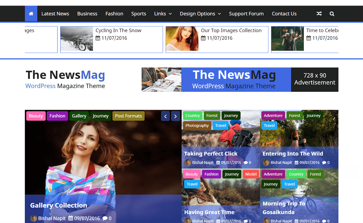 the newsmag magazine wordpress theme - 25+ Best Free Magazine WordPress Themes For 2019