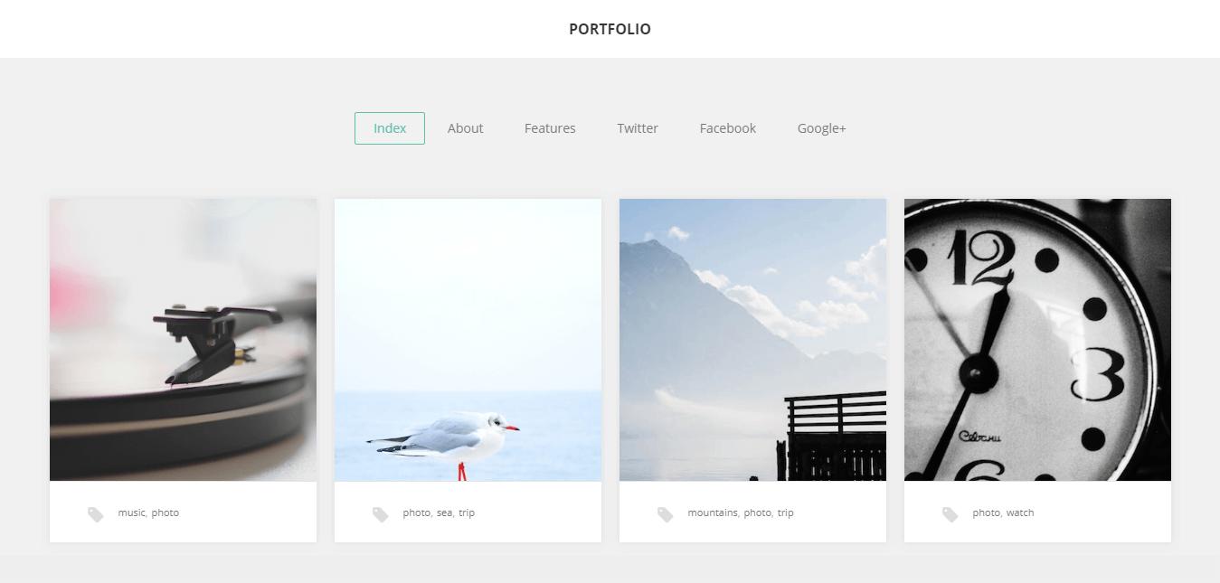 gk portfolio free wordpress theme - 15 Best Free WordPress Portfolio Themes For 2019