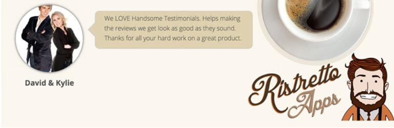 handsome testimonials free wordpress testimonial plugins - 5+ Best Free WordPress Testimonial Plugins