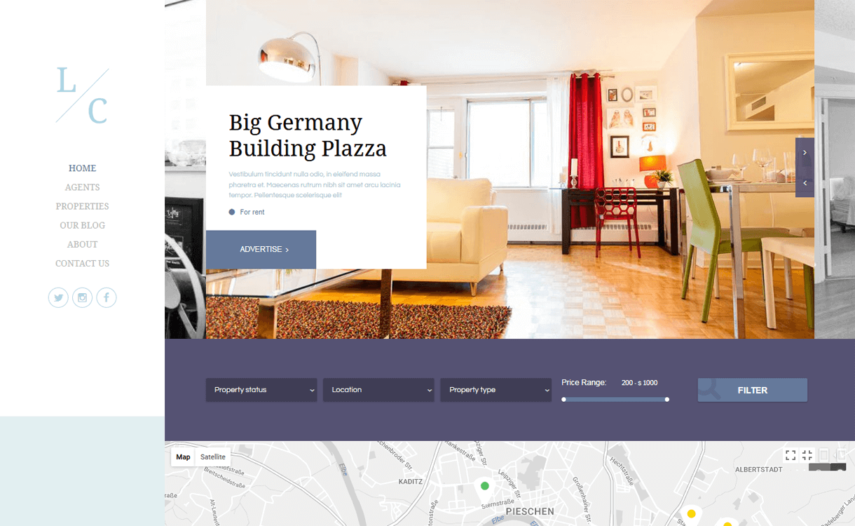luster best free premium real estate wordpress theme - 25+ Best Real Estate WordPress Themes Free & Premium