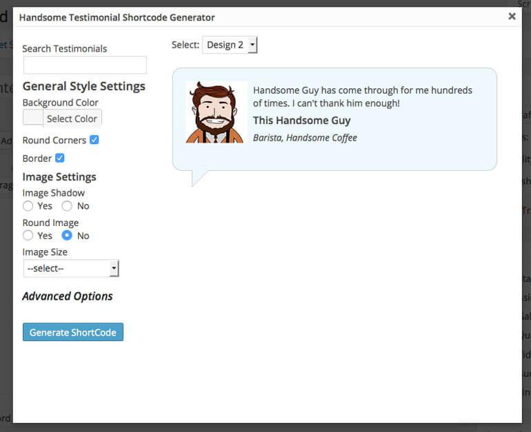 shortcode generator - 5+ Best Free WordPress Testimonial Plugins