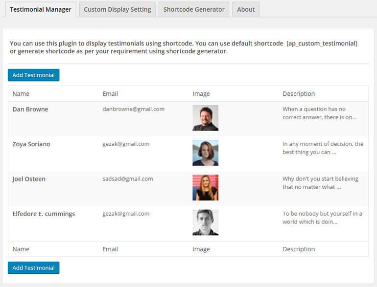 testimonial manager - 5+ Best Free WordPress Testimonial Plugins