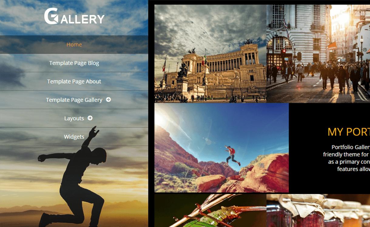 Portfolio Gallery - 15 Best Free WordPress Portfolio Themes For 2019