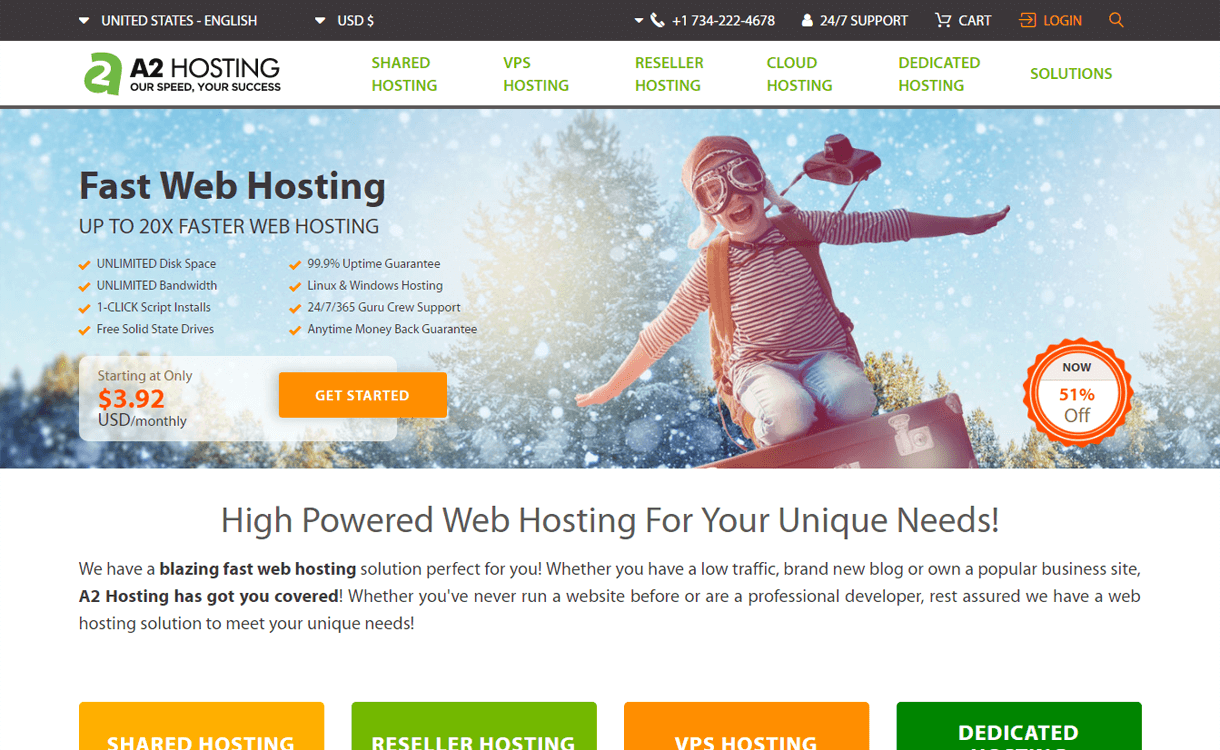 a2hosting best wordpress hosting services - 10+ Best WordPress Hosting Services 2020(Updated)