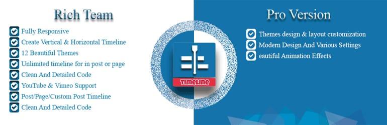 Event Timeline - Free WordPress Timeline Plugins