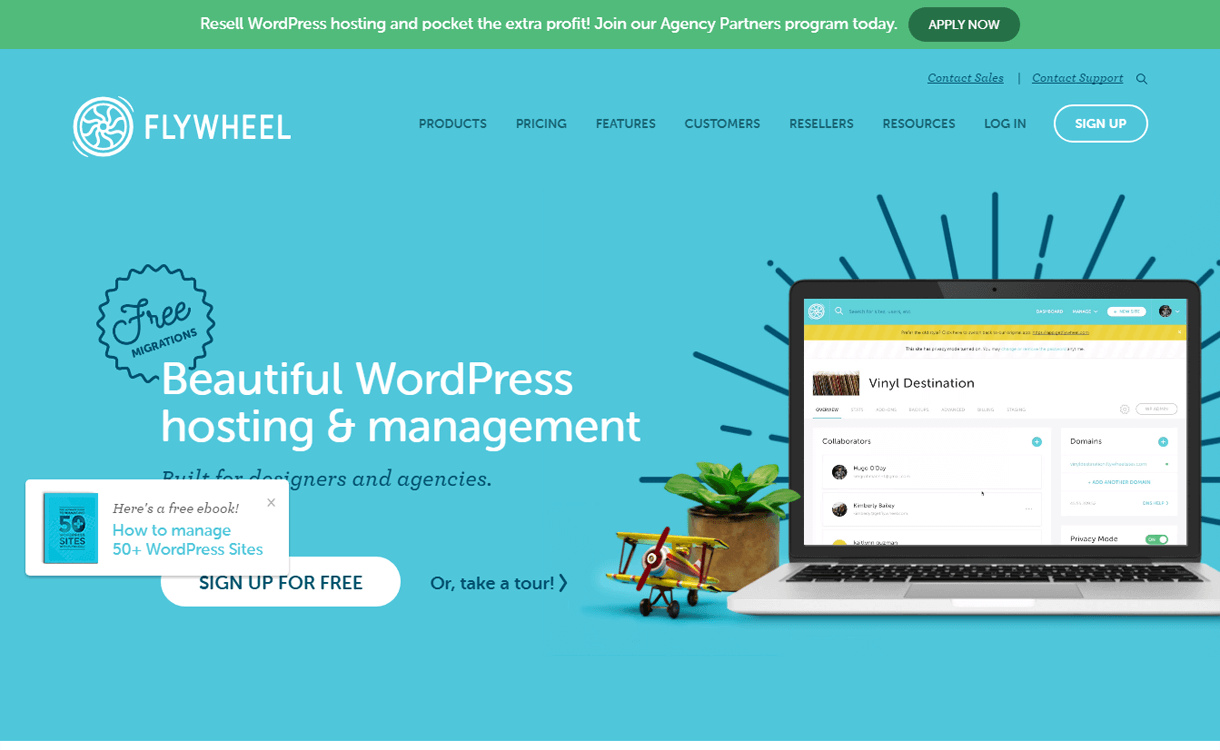 Flywheel-Best WordPress Hosting Services