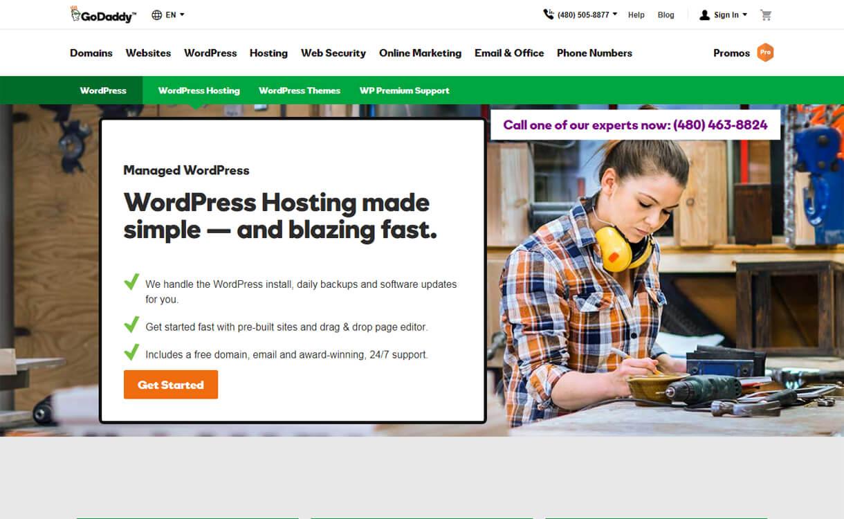 godaddy best wordpress hosting services - 10+ Best WordPress Hosting Services 2019 (Updated)