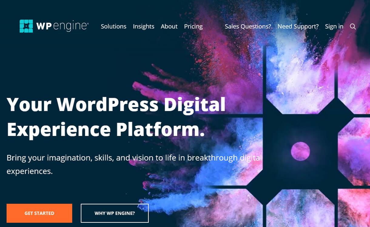 WP Engine-Best WordPress Hosting Services