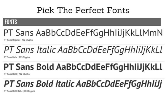 Pick Perfect Font With These Guidelines - How to Choose Typography for your WordPress Website