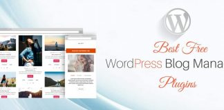 Best Free WordPress Blog Manager Plugins