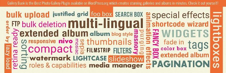 Gallery Bank - Best Free WordPress Gallery Plugins