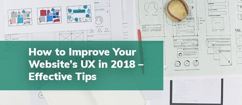Improve Website's UX