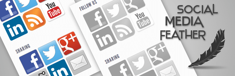 social media feather - Top WordPress Plugins To Enhance Your Web Design