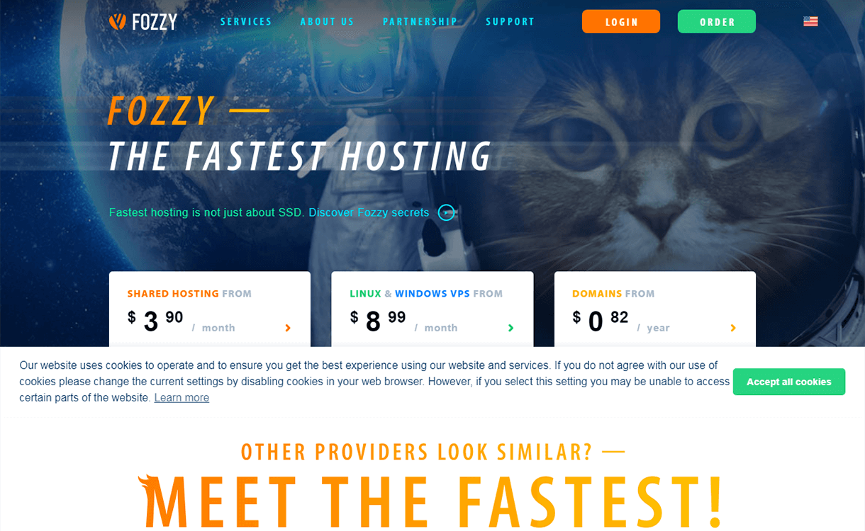 Fozzy - Fastest WordPress Hosting