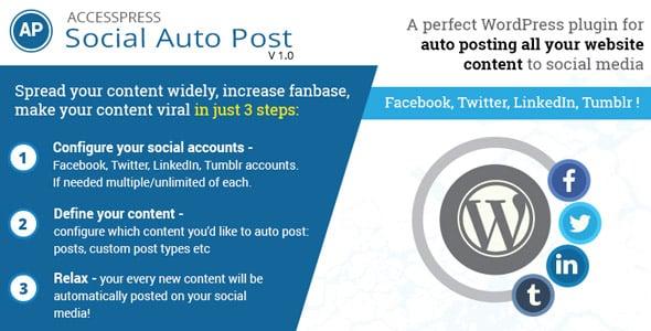 accesspress social auto post - 5+ Best WordPress Social Auto Post Plugins