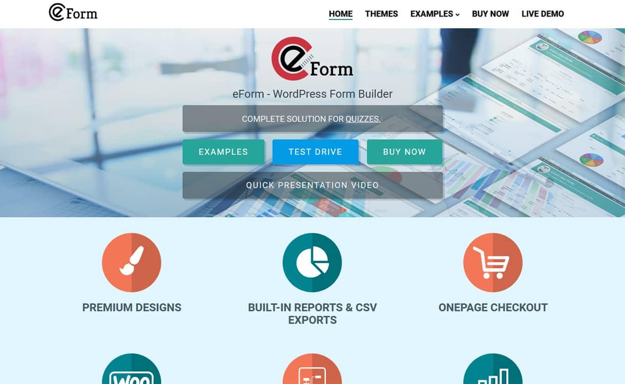 eForm - Premium WordPress Form Builder Plugins