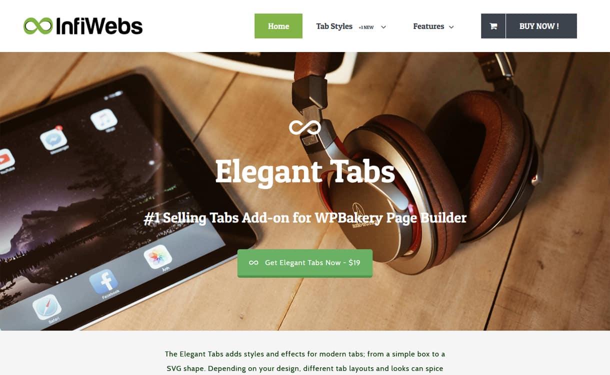 elegant tabs - 5+ Best Responsive WordPress Tab Plugins 2019