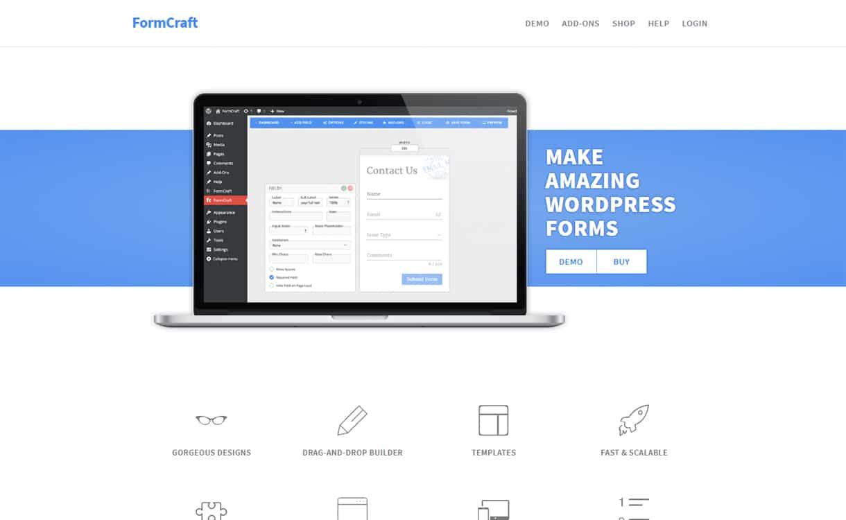 FormCraft - Premium WordPress Form Builder Plugins