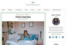 Gist - Free Clean and Minimal Blog WordPress Theme
