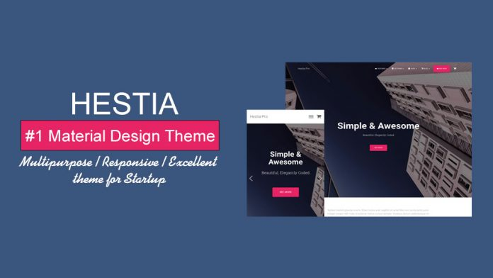 Hestia - Free WordPress Theme Review
