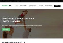 Insurance Hub - Free Corporate WordPress Theme