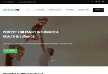Insurance Hub - Free Corporate WordPress Theme