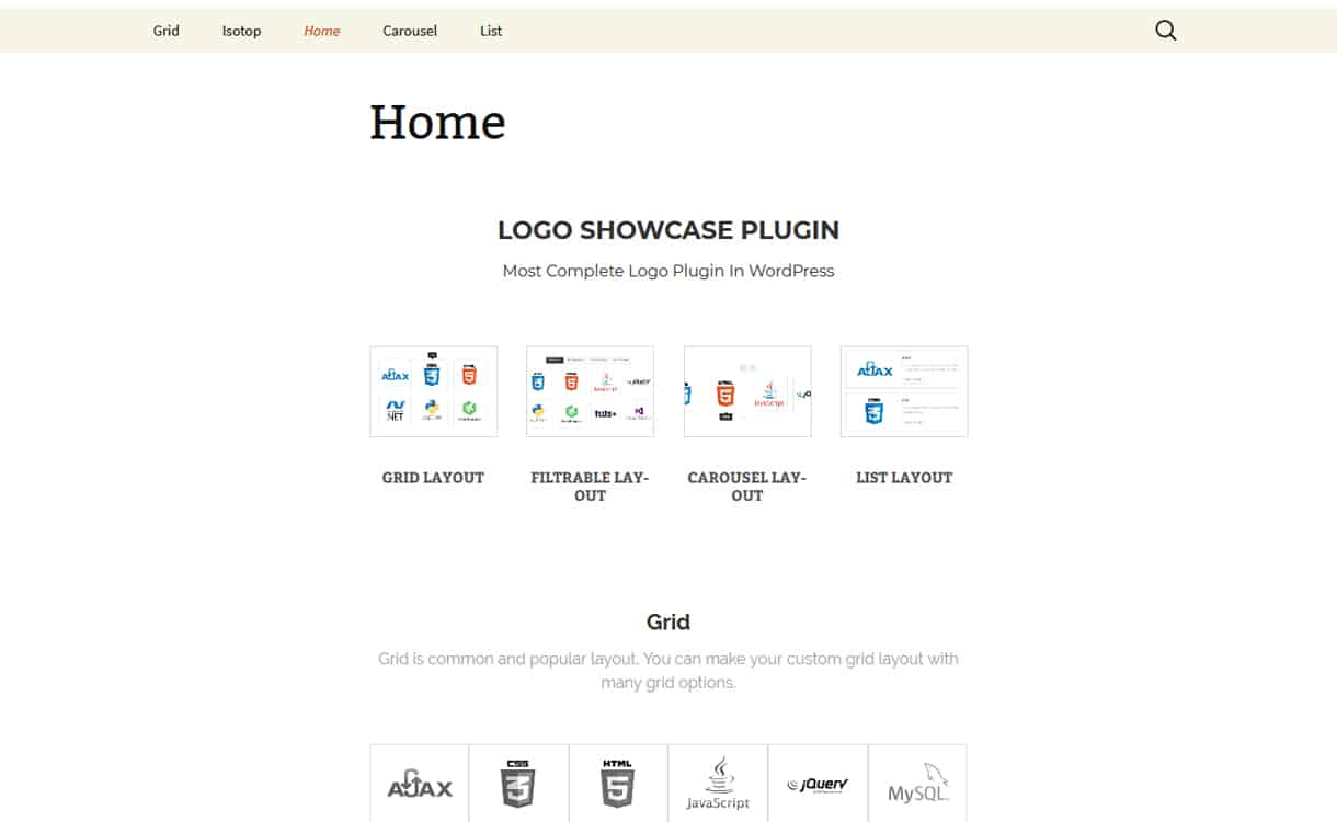 Logo Showcase Plugin - WordPress Clients Logo Showcase Plugins
