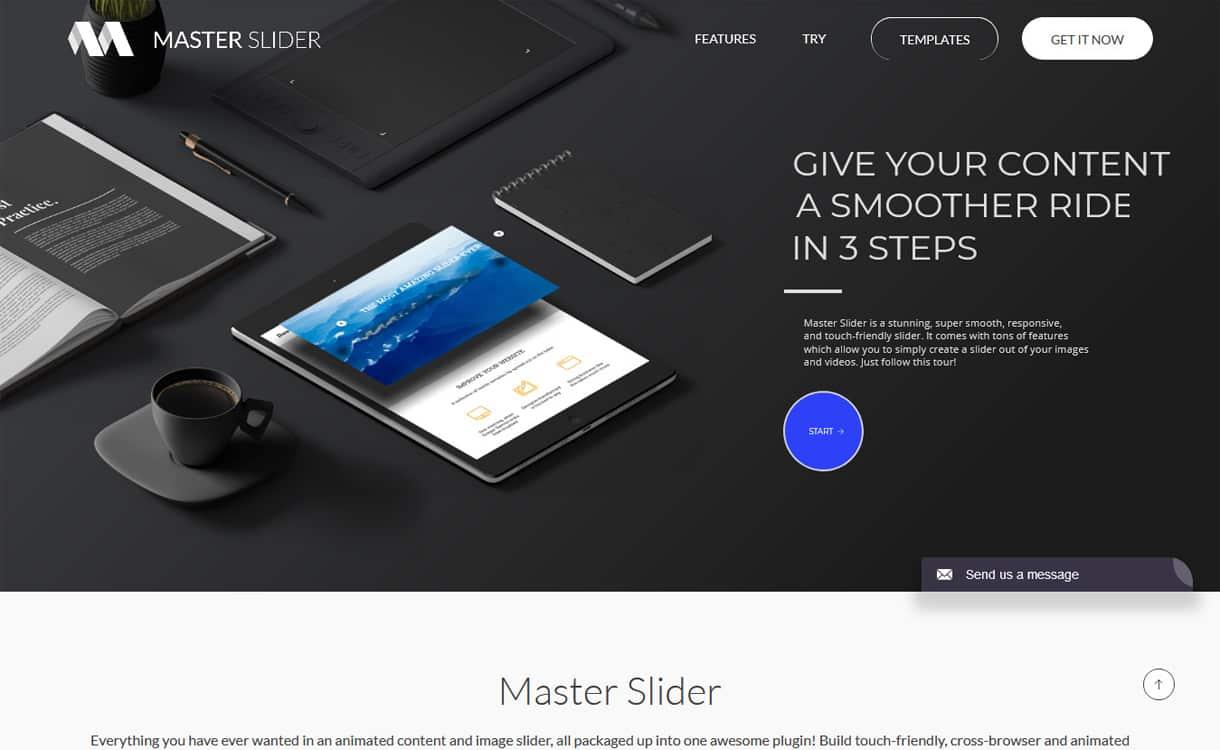 Master Slider - WordPress Slider Plugins