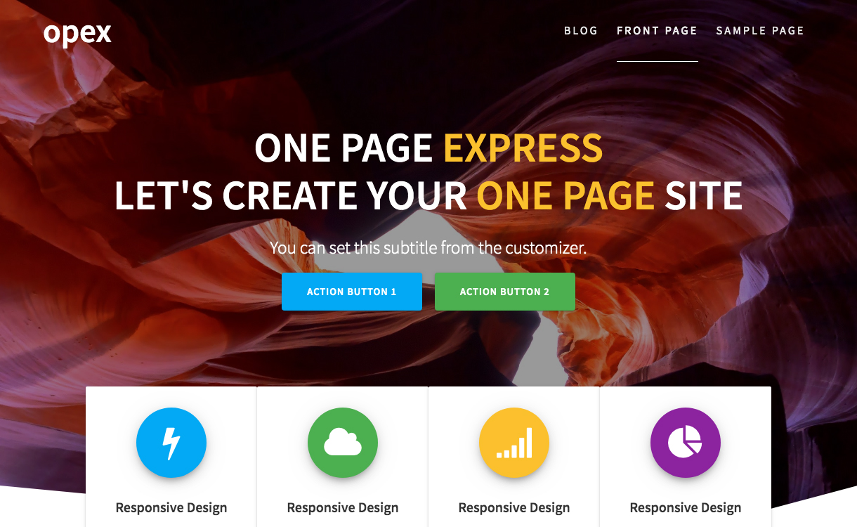 25+ Best Free WordPress One Page Themes for 2021