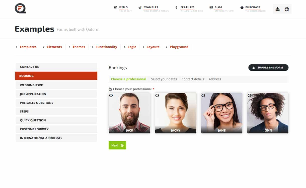 Quform - Premium WordPress Form Builder Plugins