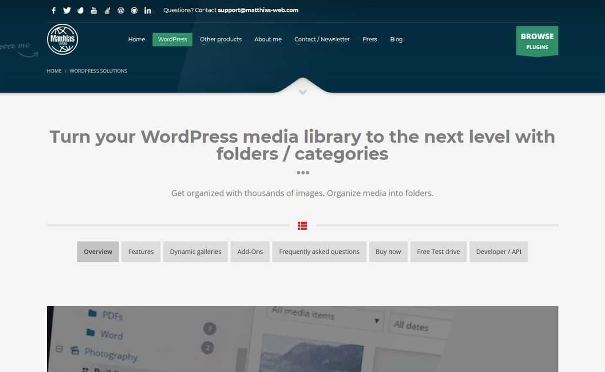 Real Media Library - WordPress Media Manager Plugins