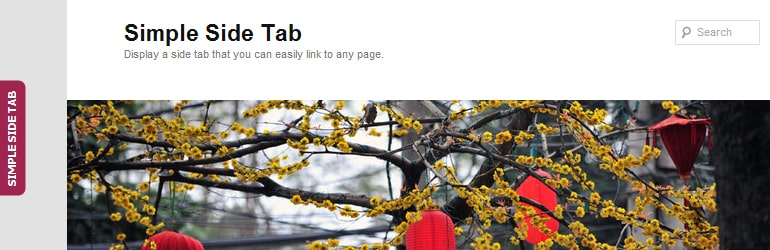 Simple Side Tab - Free WordPress Call to Action Plugins