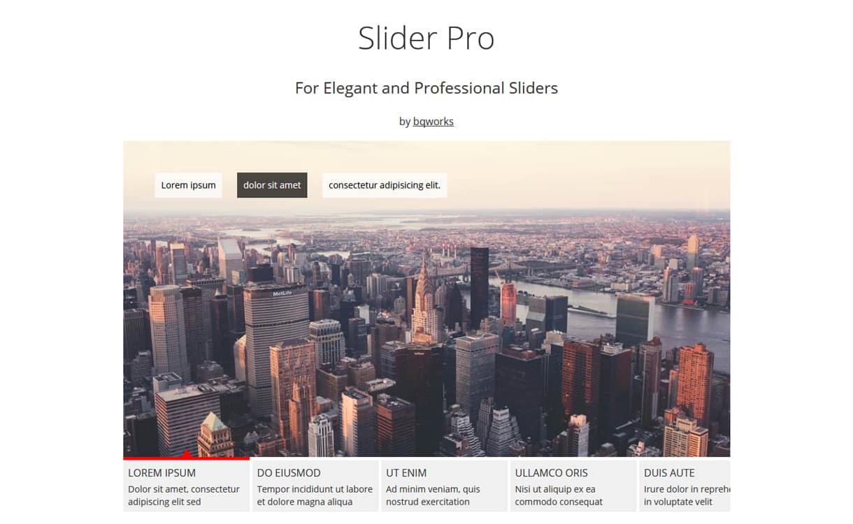 slider pro - 5+ Best WordPress Slider Plugins (Premium Collection)