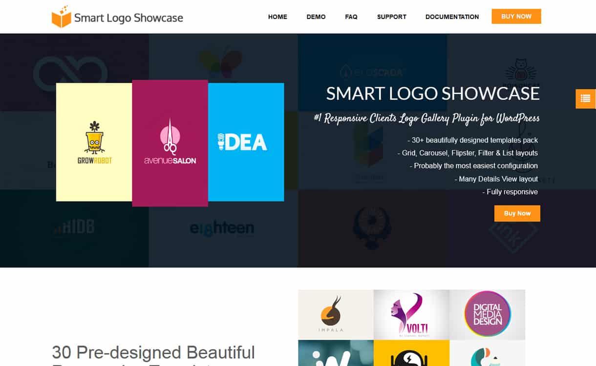 smart logo showcase - 5+ Best WordPress Clients Logo Gallery Plugins