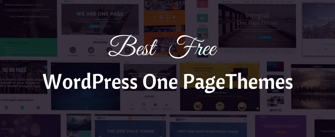 25 Best Free Wordpress One Page Themes For 2021 Wpall Club