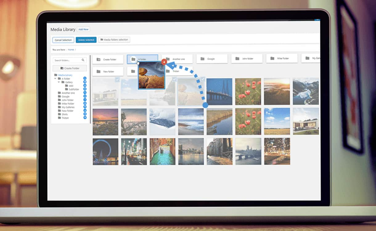 WP Media Folder - WordPress Media Manager Plugins