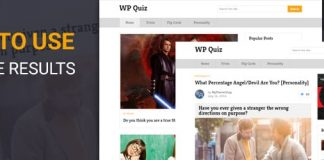 WP Quiz - Best Quiz Plugin for WordPress