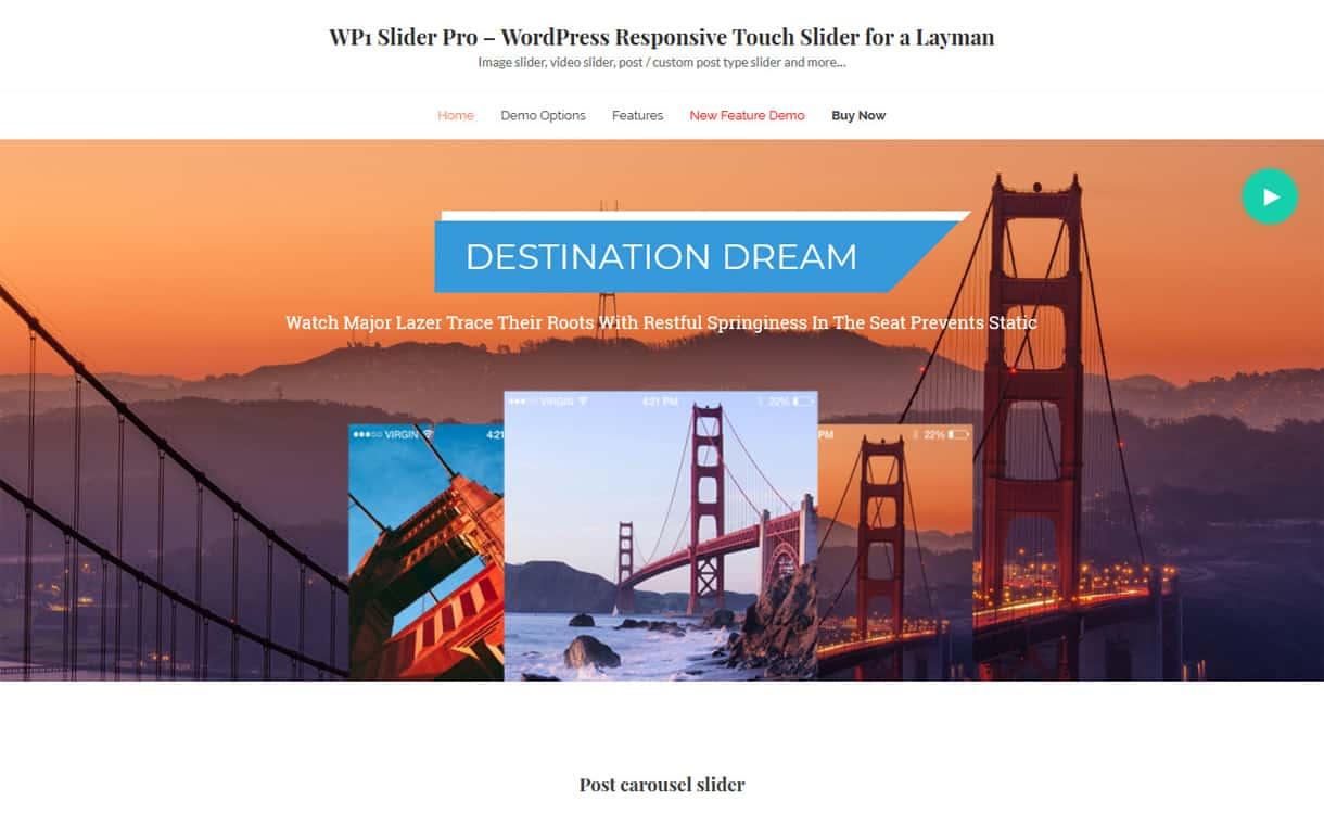 wp1 slider pro - 5+ Best WordPress Slider Plugins (Premium Collection)