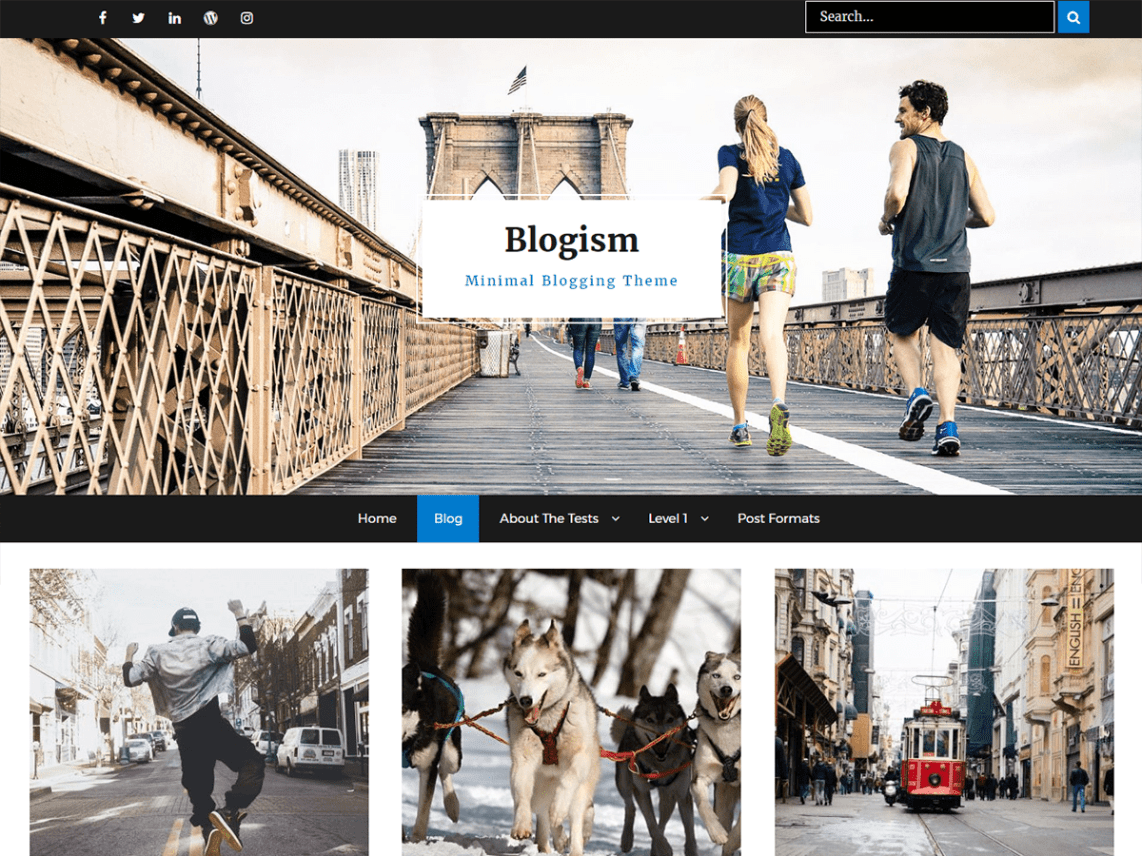 Blogism - 30+ Best Free WordPress Blog Themes for 2020