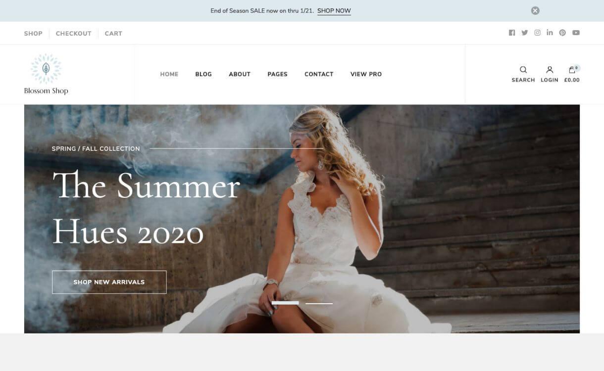 Blossom Shop - Free WordPress eCommerce Theme